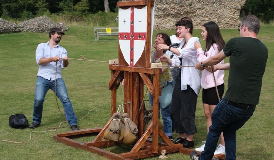 Adventure Out Games at Cirencester Roman Amphitheatre