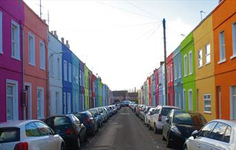 The Rainbow Street - Copyright Tash Frootko