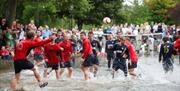 Football in the River, Bourton-on-the-Water