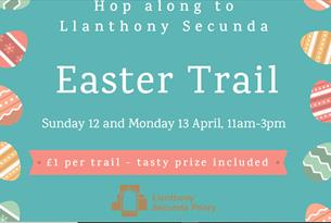 Easter Trail at Llanthony Secunda Priory