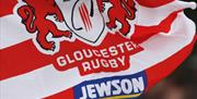 Gloucester Rugby Club Flag