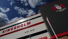 Kingsholm Stadium home to Gloucester Rugby
