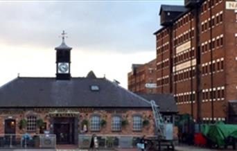 At Gloucester Docks